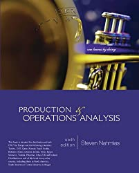 Production and Operations Analysis by Steven Nahmias (2013-08-01)