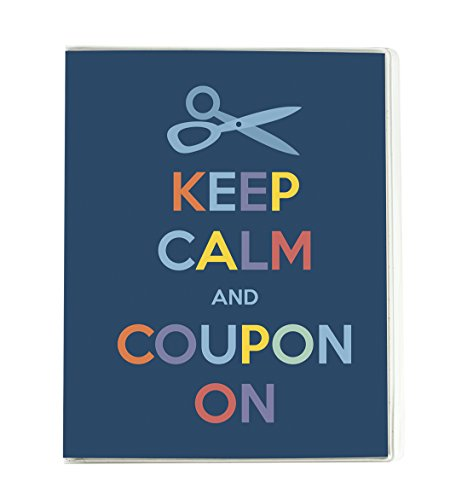 Small Coupon Organizer Portfolio - Keep Calm
