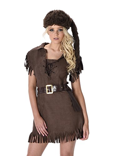 Girl Scouts Costumes (Women's Frontier Girl Scout Costume - Halloween (L))