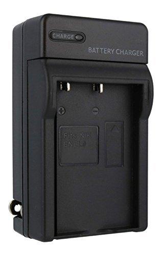 Nikon EN-EL9, EN-EL9a Compact Battery Charger by TechFuel replaces MH-23 charger for Nikon D40, D40x, D60, D3000, D5000 cameras