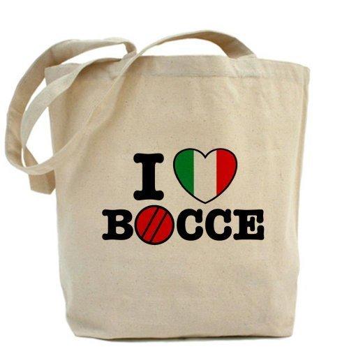 I Love Bocce Borsa Borsa Da CafePress da CafePress