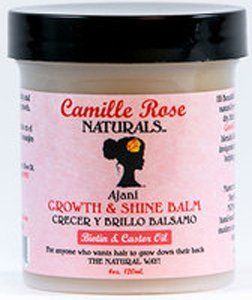 Camille Rose Naturals Ajani Growth & Shine Balm, 4.0 - Rose Shine