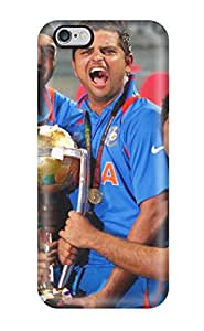 3266490K97118149 Ultra Slim Fit Hard Case Cover Specially Made For Iphone 6 Plus- Team India 2011 World Cup