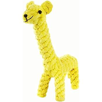 GOCooper Dog Toys, Cotton Dental Teaser Rope Chew Teeth Cleaning Toys Giraffe