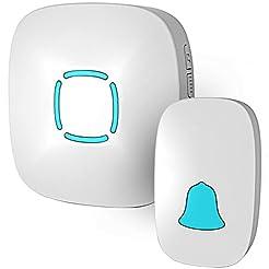 Doorbell, Lovin Product Waterproof Wirel...