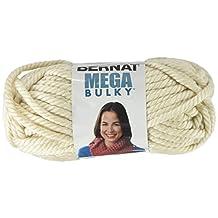 Bernat Mega Bulky Yarn, 7 Ounce, Aran, Single Ball