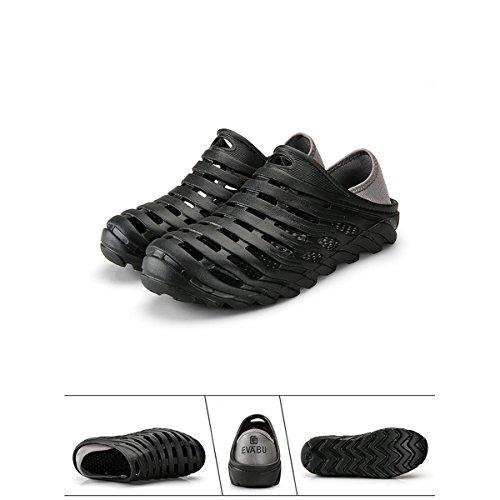 Image of RARKOR Garden Shoes Men's Ultralight Hollow Summer Aqua Breathable Comfort Slippers Outdoor Unisex Water Shoes