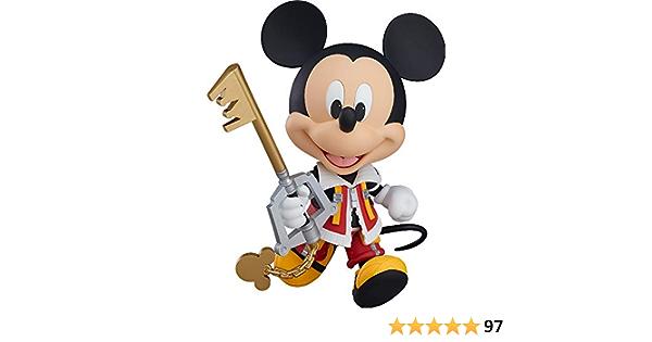 Good Smile Kingdom Hearts II 2 King Mickey Nendoroid Action Figure USA Seller