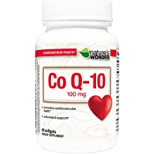 Nature's Wonder COQ10 100mg Nutritional Supplement, 90 Count
