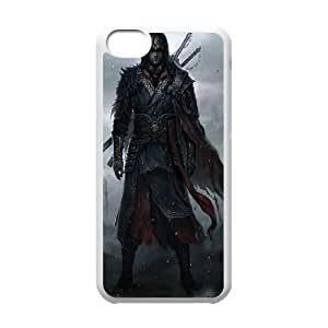 Assassins-Creed-Black-Flag iPhone 5c Cell Phone Case-White Znhlz