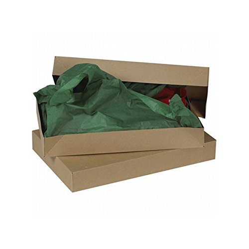 Box Packaging Apparel Box, Kraft, 17'' x 11'' x 2-1/2'' - Case of 50 by Box Packaging