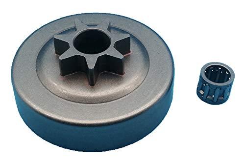 Tuzliufi Clutch Drum Sprocket Needle Bearing Replace 7 Teeth Husqvarna 36 41 136 137 141 142 235 235E 240 530047061 530069342 Poulan & Sears Craftsman Chainsaws New Z169