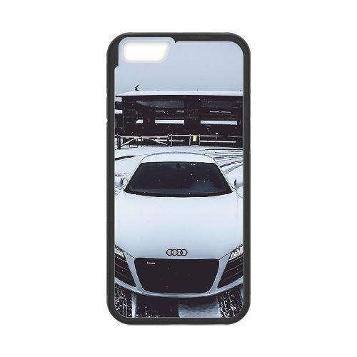 Audi Black coque iPhone 6 Plus 5.5 Inch Housse téléphone Noir de couverture de cas coque EBDOBCKCO13633