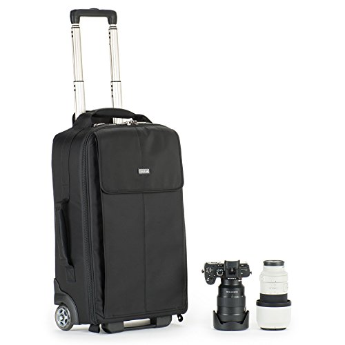 Think Tank Photo Airport Advantage Plus Rolling Camera Bag (Black) by Think Tank Photo