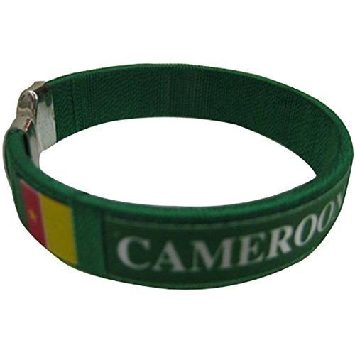 Cameroon Flag C Bracelets Wristbands - 1 Piece