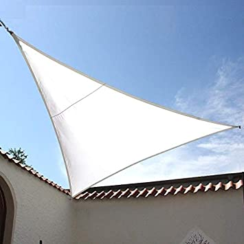 Dekowelten Luxus Terrassen Sonnensegel Dreieck Der Extraklasse 3 75m