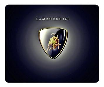 Customizablestyle Lamborghini Logo Of White Background Amazon Co Uk