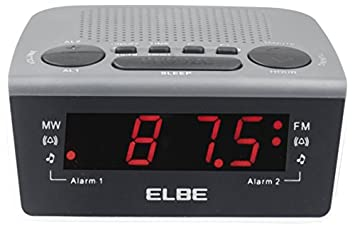 Elbe CR-932 - Radio despertador digital con radio AM/FM: Amazon.es: Electrónica
