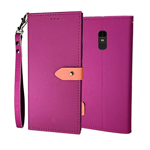 XOLPINK FlipCover Cases for Mi Redmi Note 5  Fuscia Pink