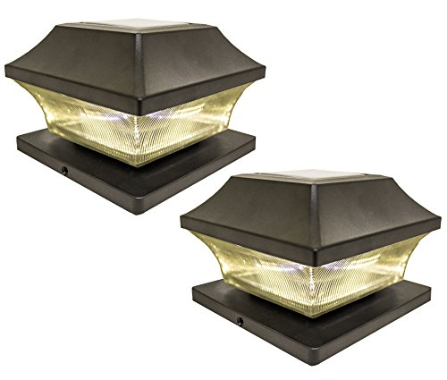 Outdoor Solar Lights 4X4 Post