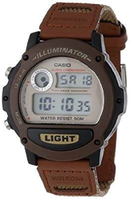 Casio Men's W89HB-5AV Illuminator Sport Resin Strap Watch