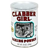 Clabber Girl, Baking Powder, 8.1oz Canister (Pack of 3)