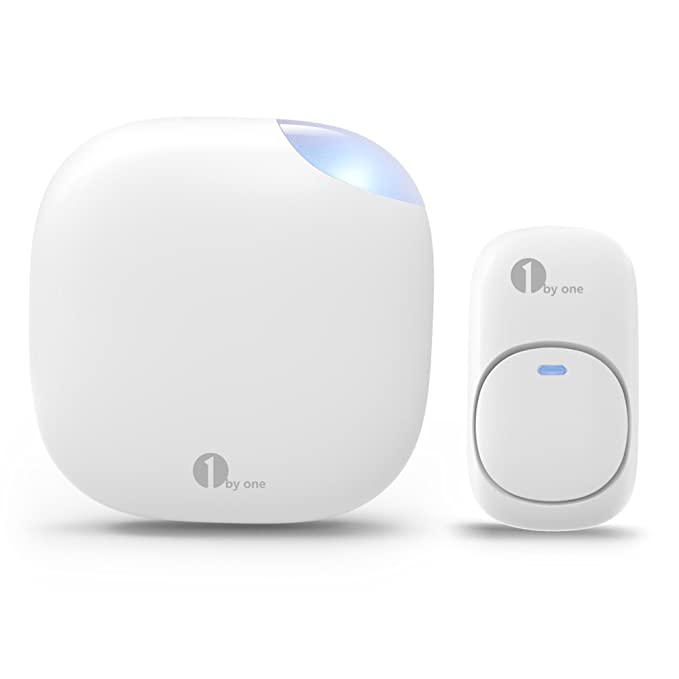 1 by one Easy Chime Plug-in Wireless Doorbell