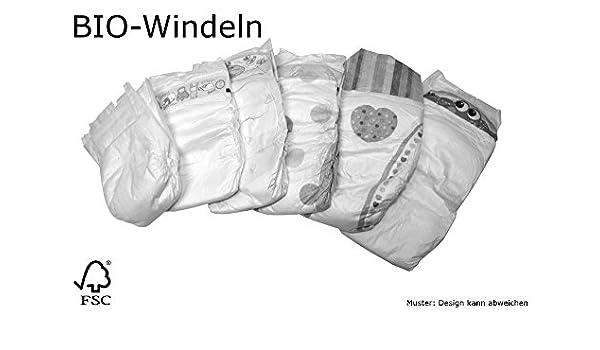 Bio Baby Pañales desechables Newborn Mini Midi máximo Junior pañales GR-GR 2 3 G 4 G 5 grande Paquete Cartón Certificado biológico abbau Bar: Amazon.es: ...