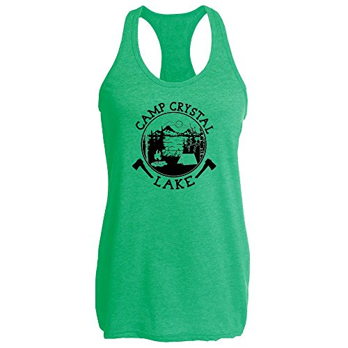 Pop Threads Camp Crystal Lake Counselor Shirt Costume Staff Heather Kelly S Womens Tank Top