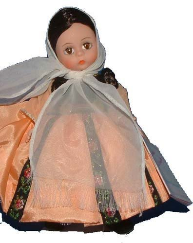 Madame Alexander Crete - International Doll 529