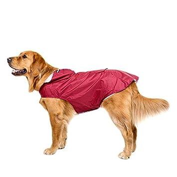Bwiv 3xl Hundejacke 6xl Hunde Reflexstreifen Hundemantel Kapuze Groß Regenmantel Gefüttert Ultraleichte Wasserdicht Regenjacke Mit Atmungsaktive 4c3AR5jLq