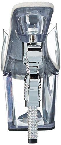 Clr Transparent Transparent Clr 712 Mujer Revolver Sandalias Pleaser wCz0Sz