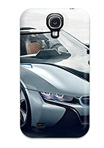 LdkyRBe224WPHAL Anti-scratch Case Cover Michael Volpe Protective Bmw I8 Spyder Concept Car Case For Galaxy S4