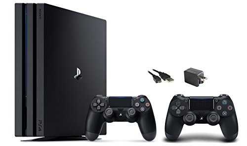 PlayStation-4-Pro-Console-3-items-BundlePS4-Pro-1TB-ConsoleExtra-PS4-Dualshock-4-Wireless-Controller-Jet-Black-wiht-Mytrix-Wall-Charger