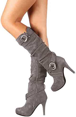 ee5c062f59038 Shopping Under $25 - Grey - Boots - Shoes - Women - Clothing, Shoes ...