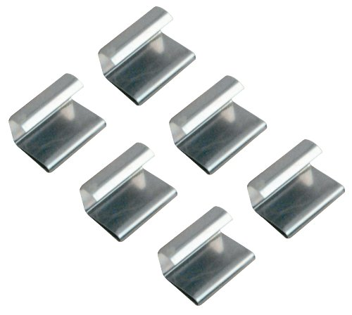 Prime-Line Products L 5519 Screen Retainer Clips, 3/8-Inch, Spring Steel,(Pack of 6) Screen Retainer