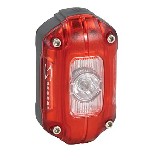 Serfas Superbright Rechargeable Rear Light with AWS, 60 lm