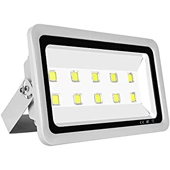Le 200w super bright outdoor led flood lights 22000 lumen daylight morsen super bright led flood light 500w 50000lm for indoor outdoor lighting fixture daylight white 6000k aloadofball Image collections