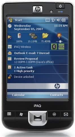 HP iPAQ 214 Enterprise - PDA [Importado de Alemania]: Amazon.es ...