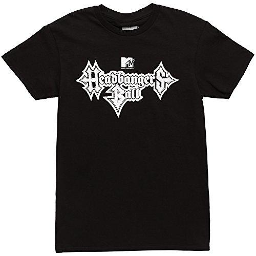 - MTV Headbangers Ball Adult T-Shirt - Black (X-Large)