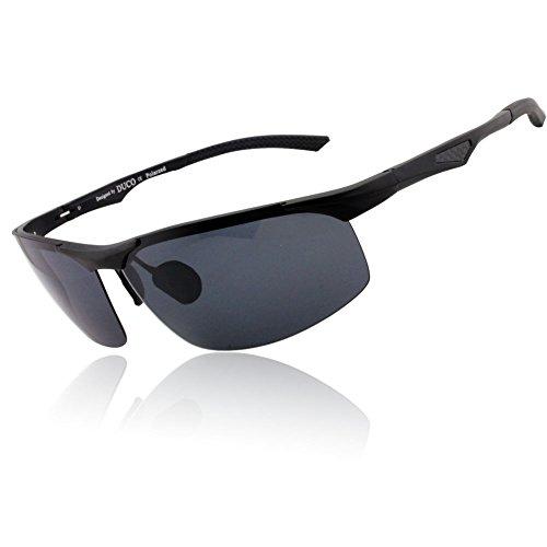 e5244825b50 Duco Men s Sports Style Polarized Sunglasses Carbon Fiber Unbreakable  Frame. Duco Men s Sports Style Polarized Sunglasses Driver Glasses ...