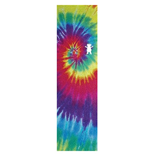 Grizzly Single Sheet Tie Dye Griptape Skateboarding Grip tap