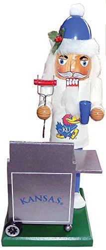 Santas Workshop KSJ060 12 in. Kansas Jayhawk Tailgating -