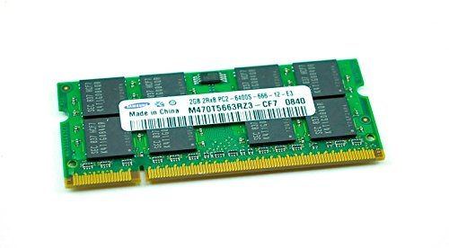 (Samsung 2GB PC2-6400 DDR2-800MHz Non-ECC Unbuffered CL6 M470T5663RZ3-CF7)