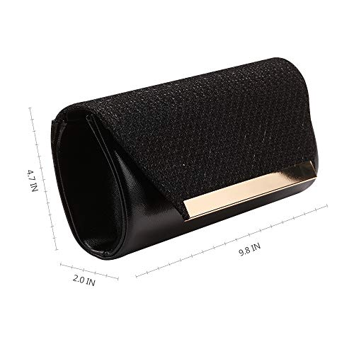 Prom Girls Purse Party Bags Women Black Evening Clutches Marswoodsen Wedding Cocktail For Bridal Handbag BxIpa8q7