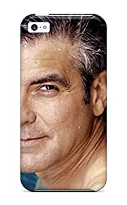 6332592K82591888 High-end Case Cover Protector For Iphone 5c(george Clooney)