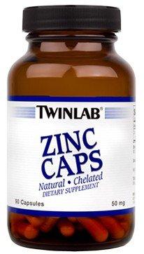 (TWINLAB ZINC 50MG, 90 CAP)