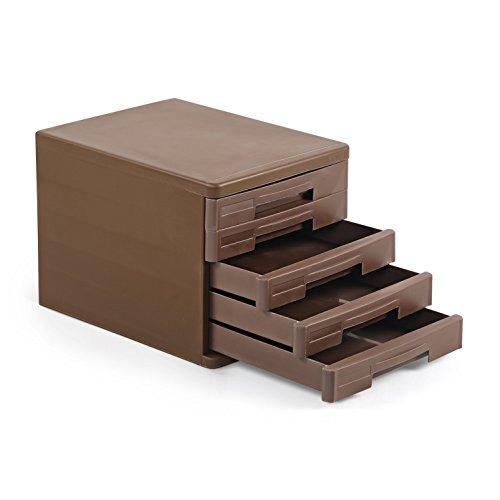 Cello Idea Storage Cabinet  Brown