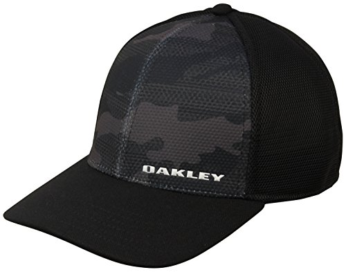 オークリー キャップ 2018 SILICON BARK TRUCKER 2.0 911722 001 Black S/SM
