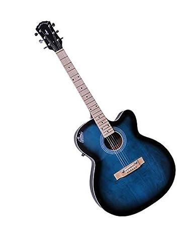 Signature Musicals NSMBT001 Topaz Guitar Blue